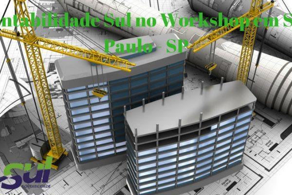 WORKSHOP – Contabilidade e tributação Setor imobiliário e da CONSTRUÇÃO CIVIL em São Paulo – SP