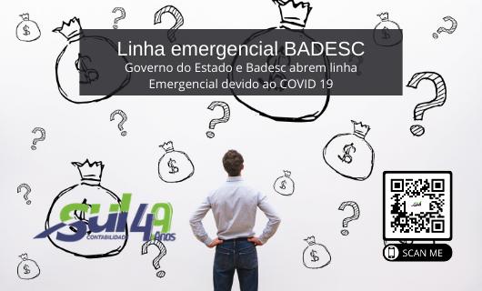 Linha emergencial BADESC