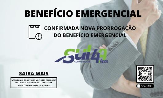 Benefício emergencial foi novamente prorrogado!