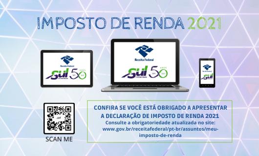 CONFIRA SE VOCÊ ESTÁ OBRIGADO A APRESENTAR A DECLARAÇÃO DE IMPOSTO DE RENDA 2021.